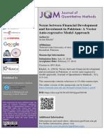 7. Nexus Between Financial Development and Investment in Pakistan.pdf