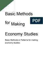 6 - Basic Methods for Making Economy Studies