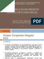 A Construção do Projeto Terapêutico Individual Profa Tânia Grigolo