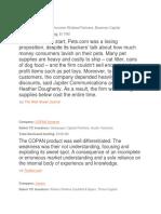 Company Failures Resources.docx