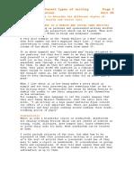 xxxP4 Analysing Types of Writing.doc