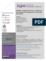 3- Abstract-Quality Academic Process