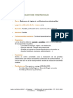 Anuncio SAE (Docente Ingles)