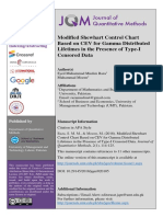 5-Abstract-Modified Shewhart Control Chart Based on CEV