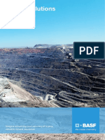 BASF Mining Solutions Product Range