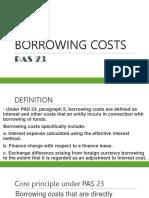 Pas 23-Borrowing Costs