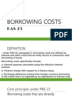 Pas 23-Borrowing Costs