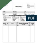 2. JOB SAFETY ANALYSIS FORM.doc