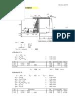 Perhitungan Struktur Retaining Wall