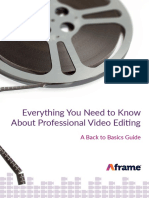 Aframe Whitepaper - Pro Video Editing