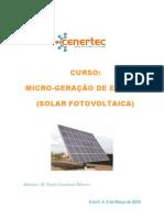 CURSO MICROPRODUÇÃO DE ENERGIA