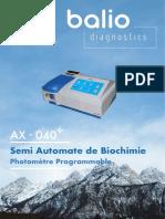 Balio Ax-040 Brochure Fr