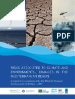 Els riscos vinculats als canvis climàtics i ambientals a la regió mediterrània