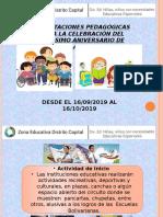 4.- Presentación Aniversario Escuelas Bolivarianas