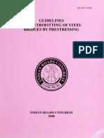 IRC SP 075 - 2008 (Retrofitting of steel bridges by prestressing).pdf