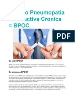 Bronho Pneumopatia Obstructiva Cronica
