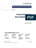 Accountacy in the US