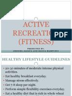 Active Recreation 2nd Quarter PE