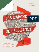 Exposition Les Canons de l Elegance au Musée de l'Armée, Paris