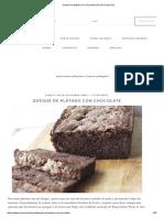 Queque de plátano con chocolate _ En Mi Cocina Hoy.pdf