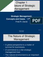 Strategic Management  chapter 1 slide