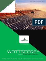 SOLAR EPC BROCHURE_WATTSCORE