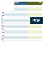 IC Event Planning Templates Event Schedule Template 9053