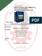 Informe Avance Tema Mecanica de Fluidos Modificado (1)