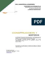 Concreto, Carateristicas y Propiedades