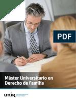 Master en Derecho Familia Esp