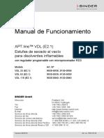 manual de horno de vacio