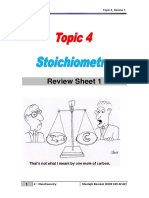 Stoichiometry Review 1