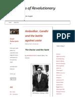 Ambedkar, Gandhi and the battle against caste _ Frontlines of Revolutionary Struggle.pdf