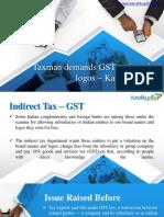 Register for Gst Online - Kanakkupillai