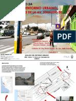 Análisis urbano de la avenida Habich