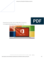 Download and use Office 2016 for FREE without a product key.pdf