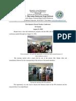 1st Quarter PTA Distribution of Cards