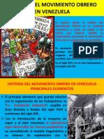 Curso de Socio politica. Historia sindical de venezuela.