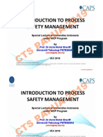COVER INTRODUCTION TO PROCESS SAFETY MANAGEMENT = UI-WCP Oct 2019 (workshop)