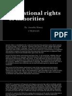 Educational Rights of Minorities