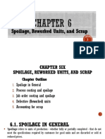 Chapter =6= - Spoilage. Re-worked units and Scrap