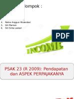 Psak 23-Pendapatan