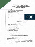 Vía libre del Supremo a la exhumación de Franco