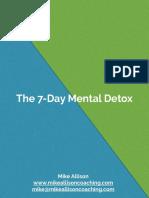7 Day Mental Detox