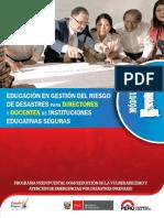 Manuel para Directores sobre Prevención de Riesgos