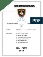El Metodo General de La Investigacion Policial
