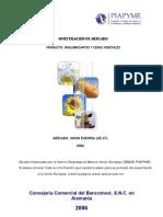 Investigación de Mercado Biolubricantes y Ceras Vegetales 2008