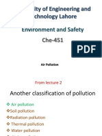 Lecture 3 Air Pollution I