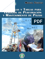 Manual Técnico de Fórmulas en Perforación de Pozos