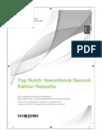 Top Notch 1bworkbook Second Edition Resuelto
